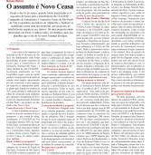 Novo Ceasa, saiba tudo aqui: Páginas 6 e 7 do Alpha Post – o Tablóide de Alphaville!