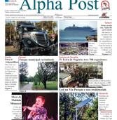 Alpha Post de junho – Edição digitalizada. Dê zoom para facilitar a leitura.