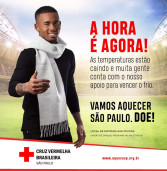 Shopping Iguatemi apoia a campanha Aqueça São Paulo da Cruz Vermelha