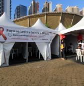 Saúde de Barueri realiza teste rápido de HIV e sífilis na Feira Noturna da próxima terça, dia 17