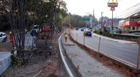 Avenida Yojiro está sendo alargada em trecho de 1 KM, pela Prefeitura de Santana de Parnaíba