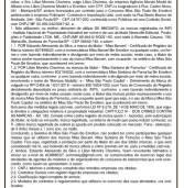 Notificação Extra Judicial ACMMESP 002/2018 l Publicada no Alpha Post de agosto de 2018