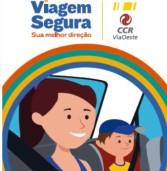 CCR ViaOeste e CCR RodoAnel distribuem 11 mil folhetos incentivando o uso do cinto de segurança