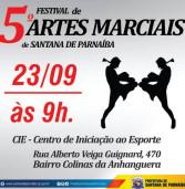 23/09 –  5o. Festival de Artes Marciais de Santana de Parnaíba