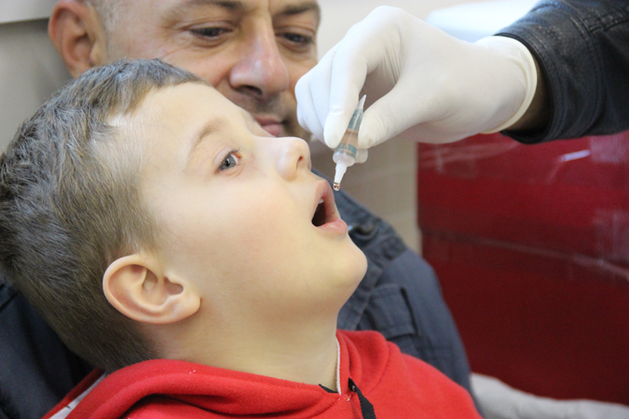 vacina. Karina Borges