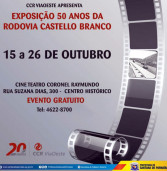 Exposição 50 Anos da Rodovia Castelo Branco em Santana de Parnaíba
