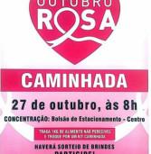 Outubro Rosa em Santana de Parnaíba: Caminhada no dia 27 de outubro.