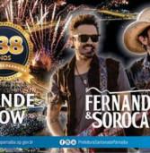 Aniversário de 438 anos de Santana de Parnaíba, com grande show de Fernando e Sorocaba