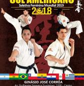 No dia 10 de novembro (sábado) será realizado o IX Campeonato Sul Americano de Karate Full Contact Shinkyokushin, no Ginásio José Corrêa, em Barueri/SP