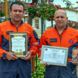 Equipe do Resgate Municipal de Santana de Parnaíba é destaque em competição mundial sobre trauma na África do Sul