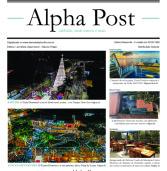 Alpha Post de dezembro. Edição de Natal. Boas Festas! (clique na imagem e dê zoom)