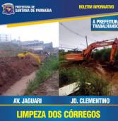 Boletim Informativo da Prefeitura de Santana de Parnaíba: Obras pós chuva do dia 1