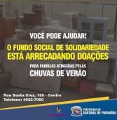 Campanha em Santana de Parnaíba: Doações para famílias atingidas pelas chuvas