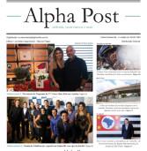 Alpha Post de fevereiro. Leia aqui, o melhor resumo mensal de notícias de Alphaville! Tabloide, onde menos é mais!