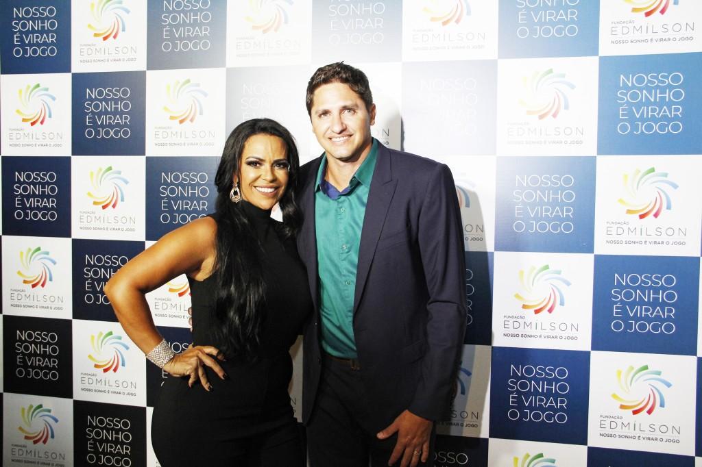 DiretoraGeral Simeia Moraes e Presidente Edmilson Moraes