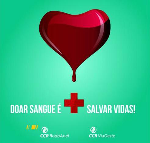 doar sangue CCR