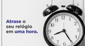 Hoje é o fim do Horário de Verão: atrase o seu relógio em 1h à meia noite