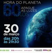 Hoje, 'Hora do Planeta'. Apague as luzes das 20h às 21h30