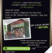 Conheça a Nação Verde no La Ville Mall da Av. Yojiro Takaoka – alimentos, cosmésticos, vitaminas e muito mais para vida saudável, além de produtos para veganos e vegetarianos