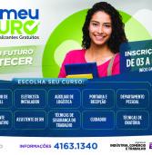 Meu Futuro – um programa de cursos profissionalizantes. Saiba mais!