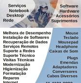 Publicidade: Conserto de computadores em Alphaville.