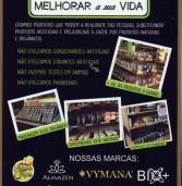 Nação Verde, tudo natural, uma loja para veganos, vegetarianos e para quem deseja produtos naturais de excelência.
