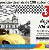 Vem aí, o 18o. Encontro de Antigomobilismo de Santana de Parnaíba. Dia 30/06. Fotos, aqui, de eventos anteriores.