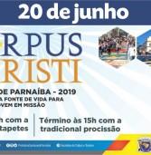 Corpus Christi, em Santana de Parnaíba, será no dia 20/06