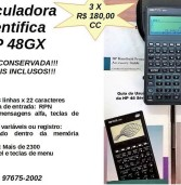 Oportunidade: Calculadora Científica HP 48 GX à venda.