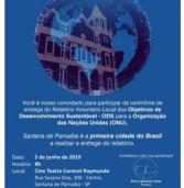 Amanhã – Convite – ODS – Cine Teatro Coronel Raymundo