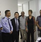 Policiais chineses visitaram Barueri para conhecer a Secretaria de Segurança e Mobilidade Urbana