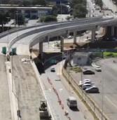 Viaduto da Av. Tucunaré sobre a Al. Araguaia vai ser inaugurado nos próximos dias