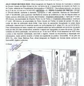 Edital de Notificação Extrajudicial – Procedimento de Georreferenciamento: P/ Pedro Claudio de Freitas – Publicação 03 de 03