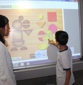 Novas lousas digitais dinamizam as aulas e melhoram a aprendizagem nas escolas de Barueri
