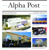 Alpha Post de agosto. Edição fechada em 30/08. Leia aqui!