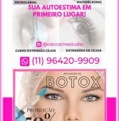 Publicidade: Ceccatine Studio – promoção para aplicação de Botox no Centro Comercial de Alphaville