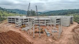 Obras do Paço Municipal de Santana de Parnaíba estão avançadas