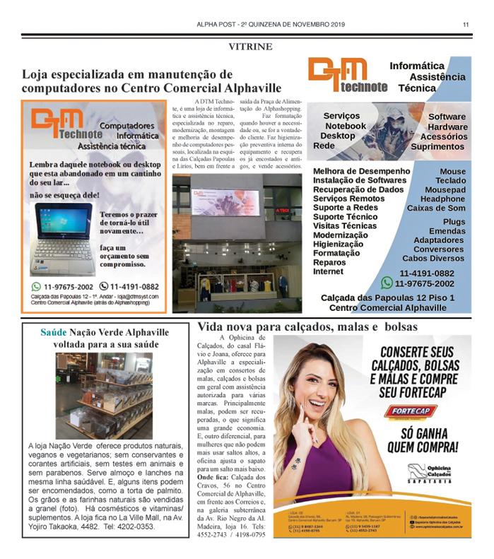 SEGUNDA QUINZENA DE ALPHAPOST NOVEMBRO 2019 pagina 11 copy