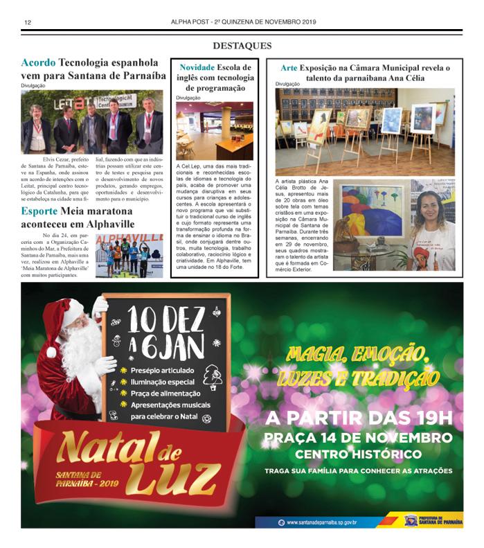 SEGUNDA QUINZENA DE ALPHAPOST NOVEMBRO 2019 pagina 12 copy