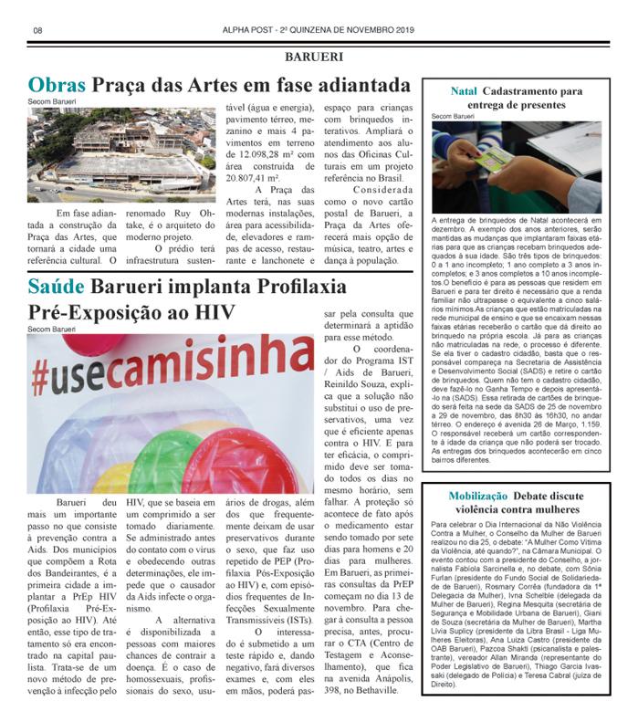 SEGUNDA QUINZENA DE ALPHAPOST NOVEMBRO 2019 pagina 8 copy