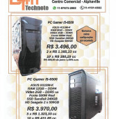 Publicidade: DTM technote vende PC Gamers