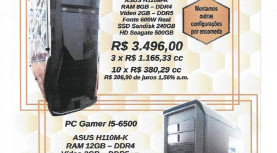 Publicidade: DTM technote vende PC Gamers