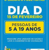 Dia D! HOJE, vacinação nas UBS's de Barueri e de Santana de Parnaíba