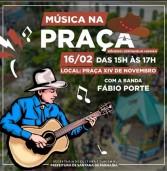 Santana de Parnaíba: DOMINGO TEM SERTANEJO MODÃO NA PRAÇA