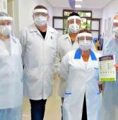 Barueri – Prefeitura recebe doação de máscaras de proteção da Brasilgráfica