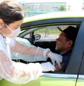 Drive Thru de vacinação contra a gripe acontece em Carapicuíba para o público-alvo das três etapas da campanha