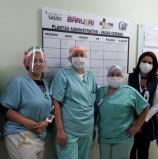 Centro de Inovação e Tecnologia doa 500 protetores faciais ao Hospital Municipal de Barueri