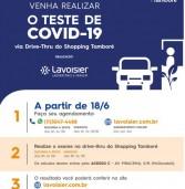 Teste Covid19 no Shopping Tamboré. Veja os preços abaixo: