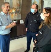 Gilbarco Veeder-Root produz barreiras antivirais para doação à Prefeitura de Barueri