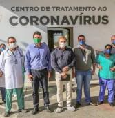 Covid-19: Deputado Cezar tem alta do Hospital de Campanha de Santana de Parnaíba